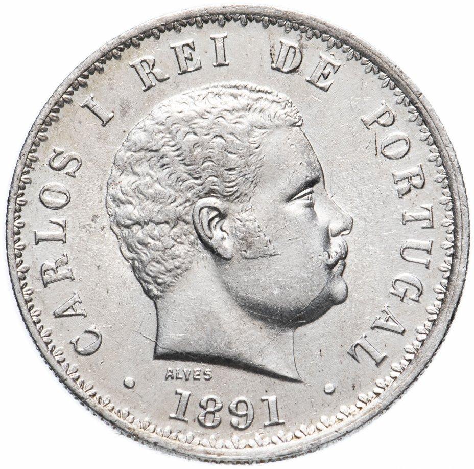 купить Португалия 500 рейс (reis) 1891