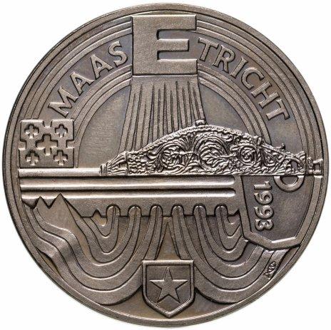 купить Нидерланды 10 экю 1993 Маастрихтский договор