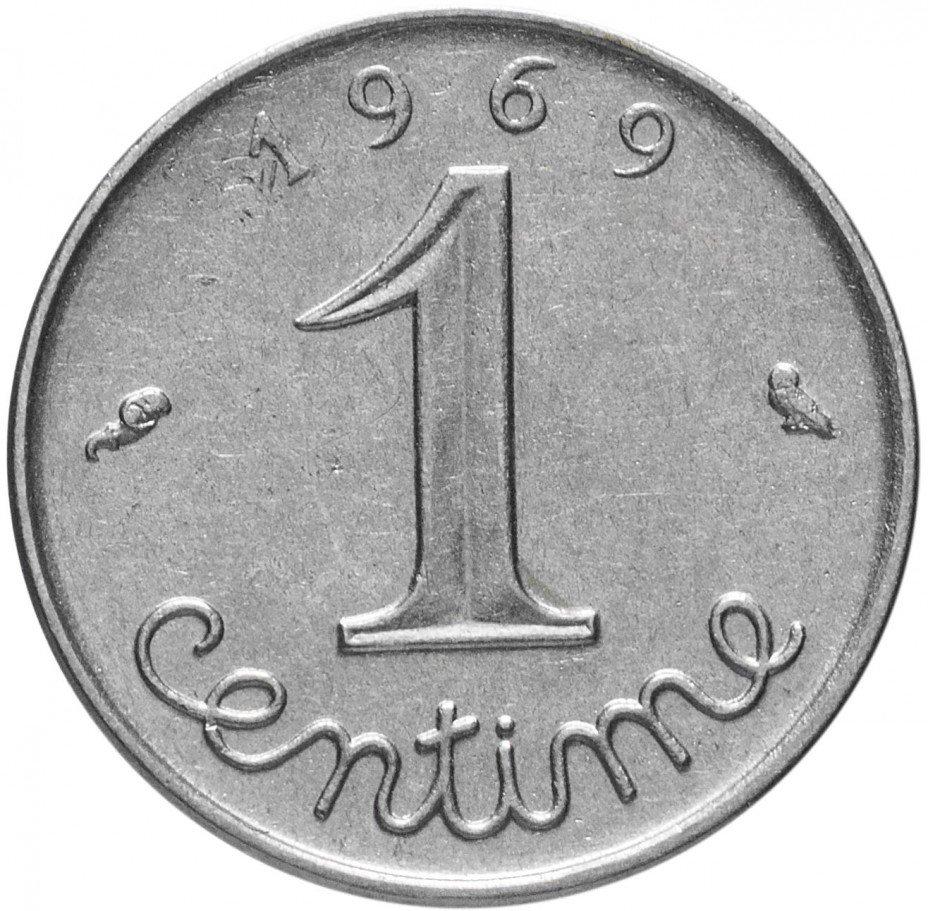 купить Франция 1 сантим 1969
