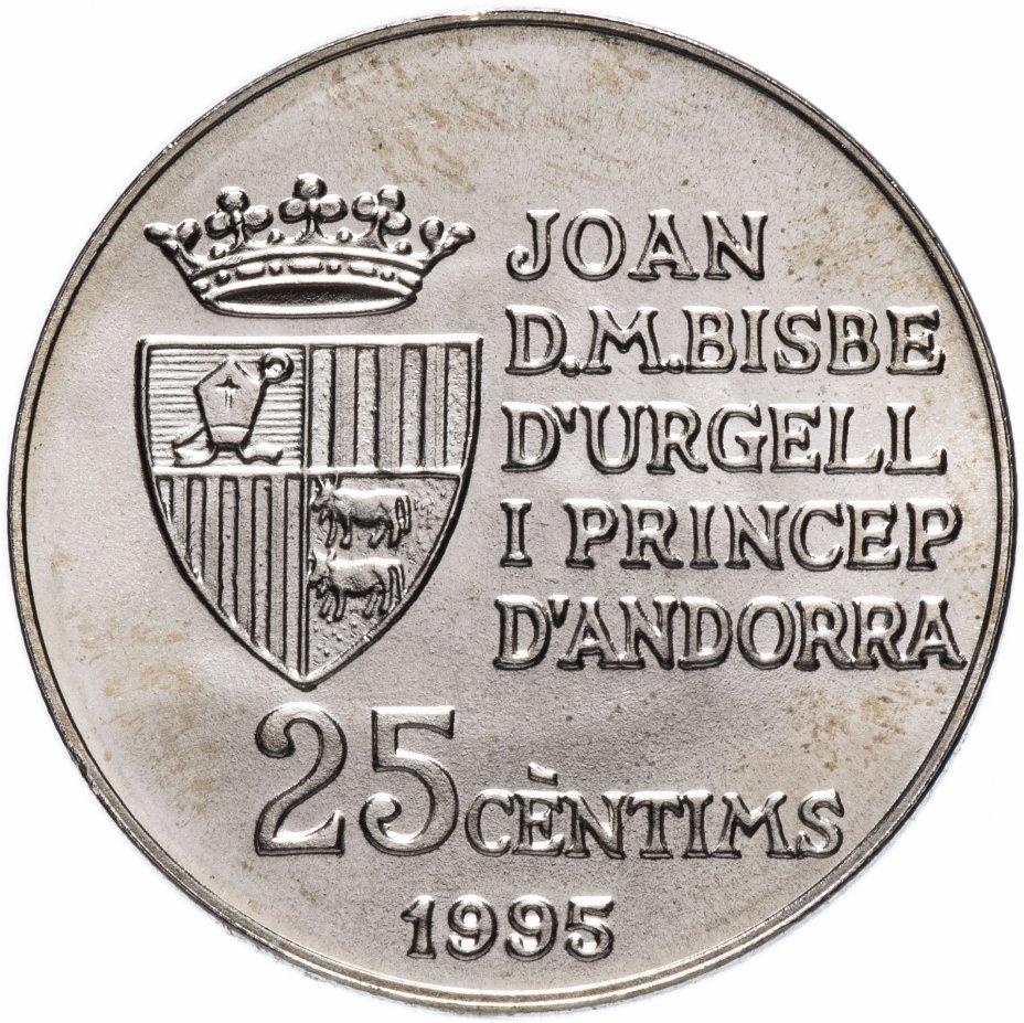 купить Андорра 25 сантим 1995 FAO