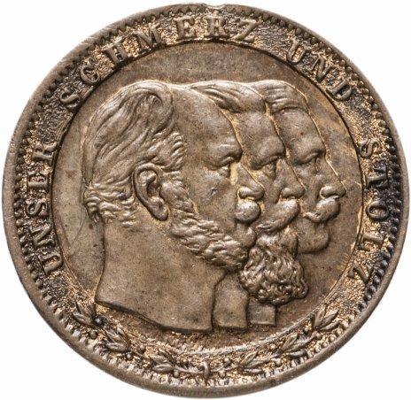 купить Германская Империя, медаль BURG HOHENZOLLERN с изображением 3 Императоров