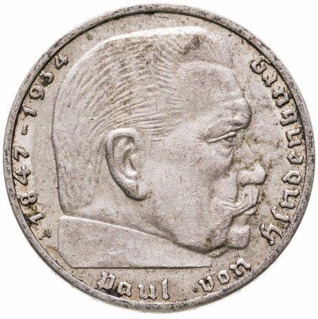 купить Германия (Третий Рейх) 2 рейхсмарки (reichsmark) 1939