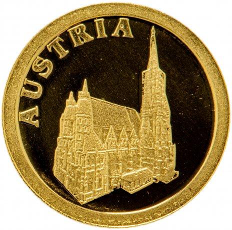 """купить Либерия 12 долларов 2008 """"Европейские страны - Австрия"""""""