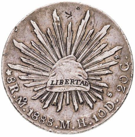 купить Мексика 8 реалов 1888