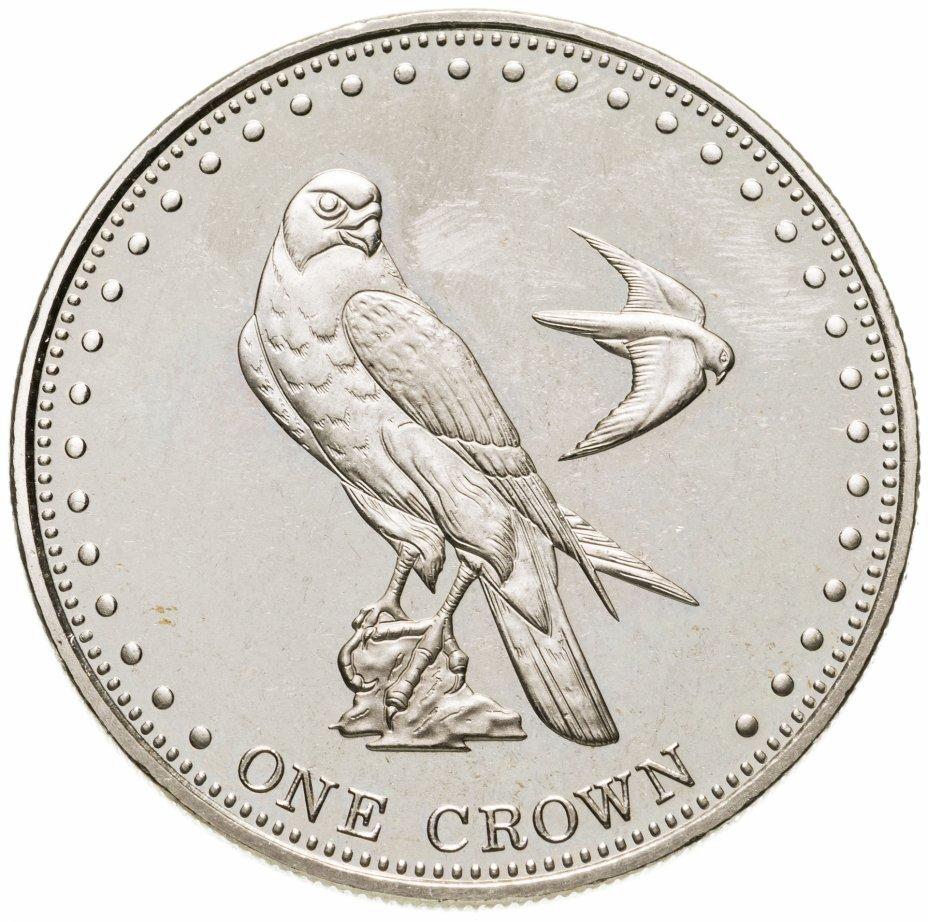 купить Тристан-да-Кунья 1 крона (crown) 2009 сапсан