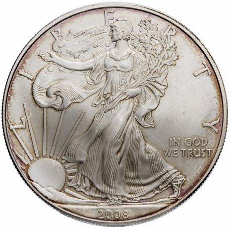 """купить США 1 доллар 2008 """"Шагающая свобода"""""""
