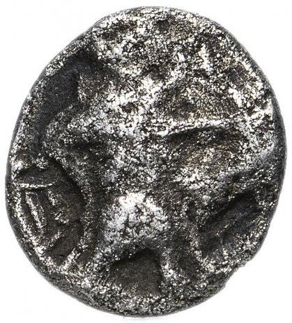 купить Финикия, Сидон, Баалшалим I, 450-424 годы до Р.Х., 1/16 шекеля (Обол) корабль.