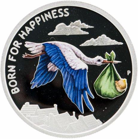 купить Тувалу 50 центов 2014 «Рождён для счастья»