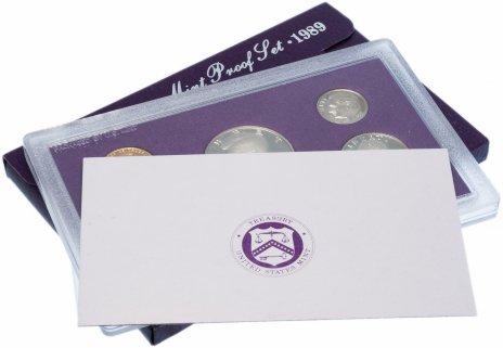 купить США набор монет 1989 года S Proof (5 штук)