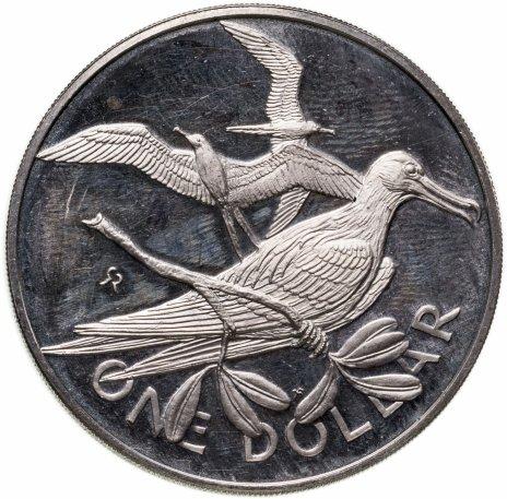 купить Британские Виргинские острова 1 доллар (dollar) 1973