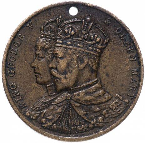 """купить Великобритания, Англия медаль """"Коронация Короля Георга в 1911 году"""""""