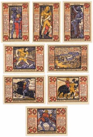 купить Германия (Тюрингия: Альтенбург) набор из 8 нотгельдов 1921