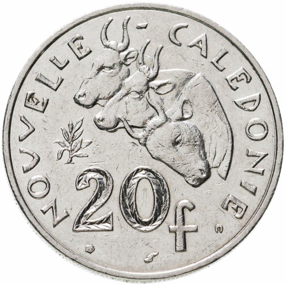 купить Новая Каледония 20 франков (francs) 2002