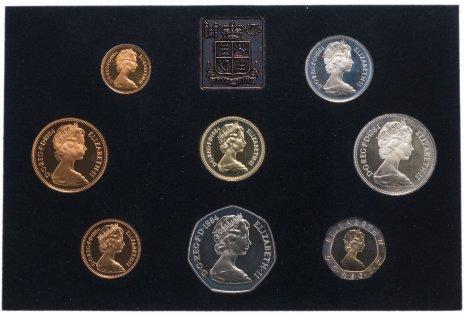 купить Великобритания набор из 8 монет и жетона 1984 Proof
