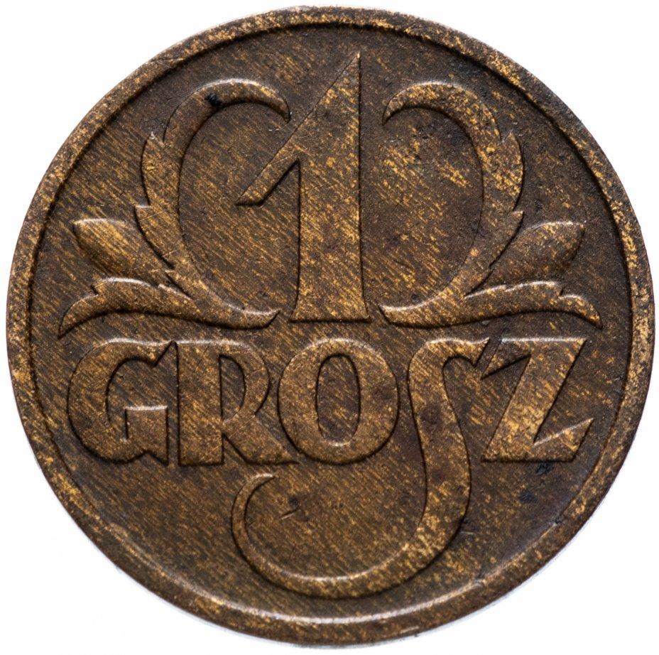 купить Польша 1 грош (grosz) 1936