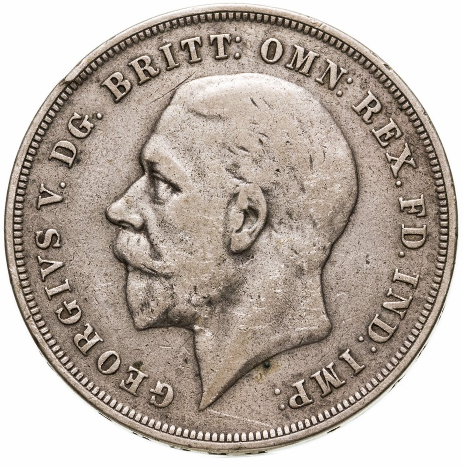"""купить Великобритания 1 крона (crown) 1935 """"25 лет правления Короля Георга V"""""""