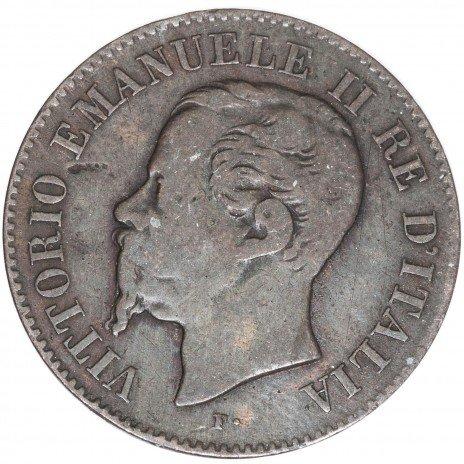 купить Италия 2 чентезимо 1867