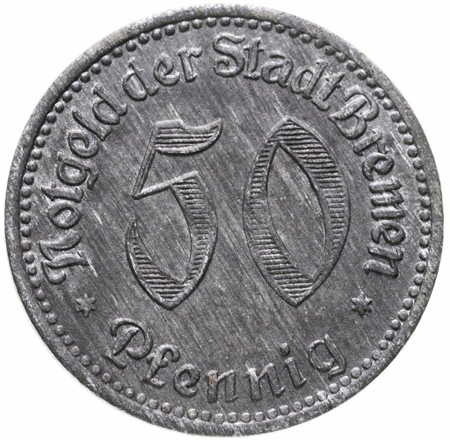 купить Германия (Бремен) нотгельд  50 пфеннигов 1920