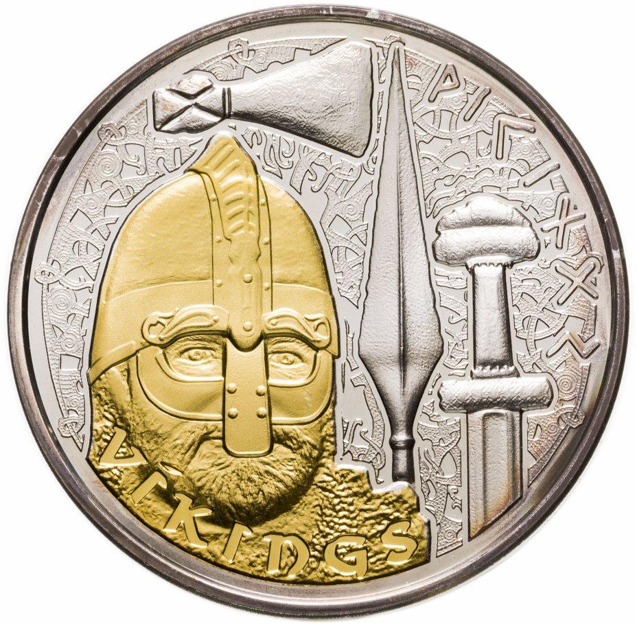 """купить Андорра 10 динеров (diners) 2008 """"Викинги"""""""