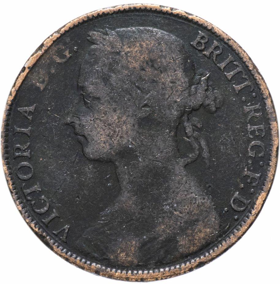 купить Великобритания 1 пенни (penny) 1884