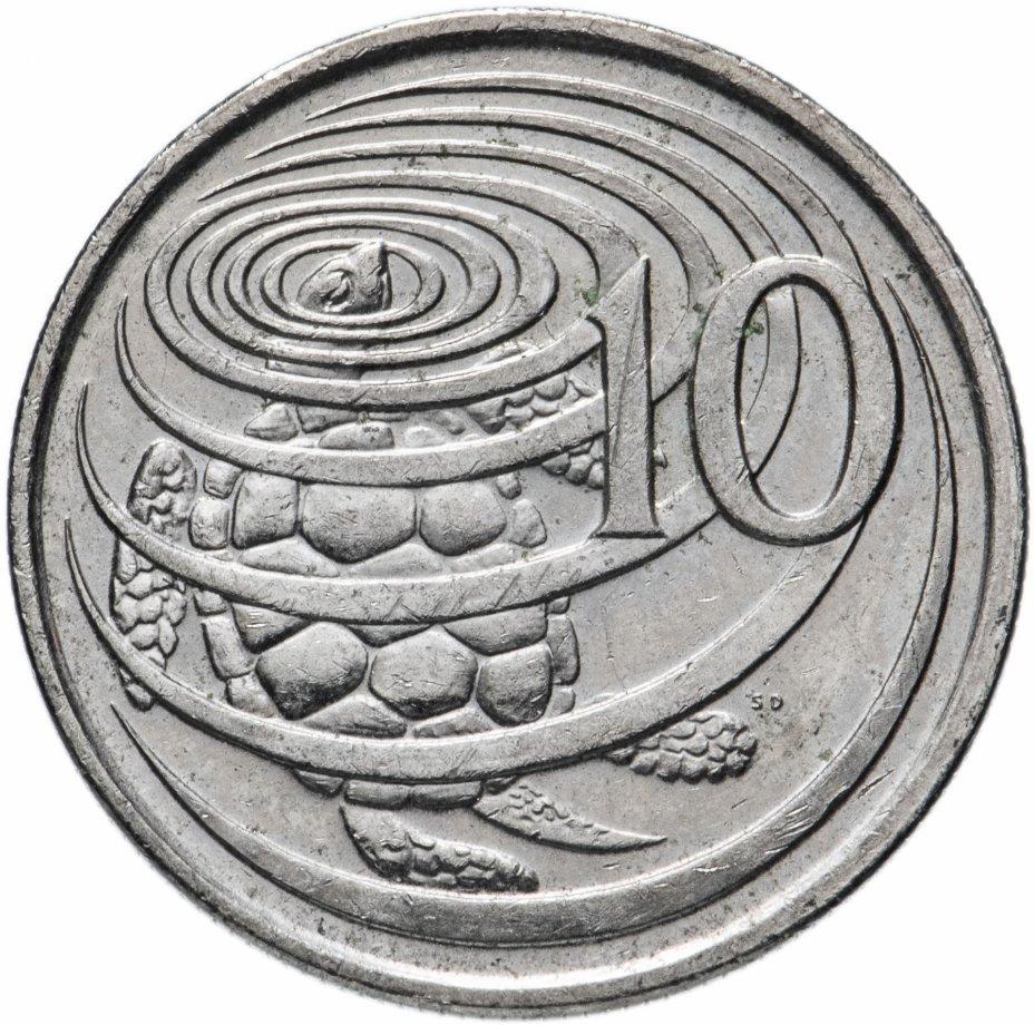 купить Каймановы острова 10 центов (cents) 1999-2017,  случайная дата