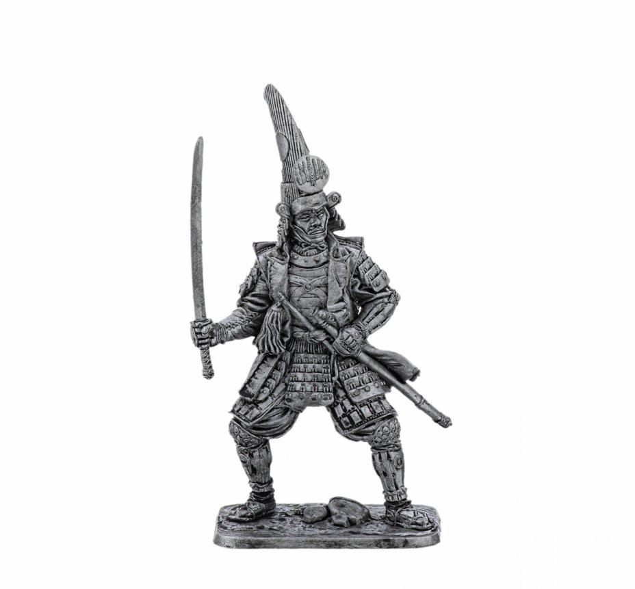 купить Оловянный солдатик, Самурай, 17 век , Россия, 2021