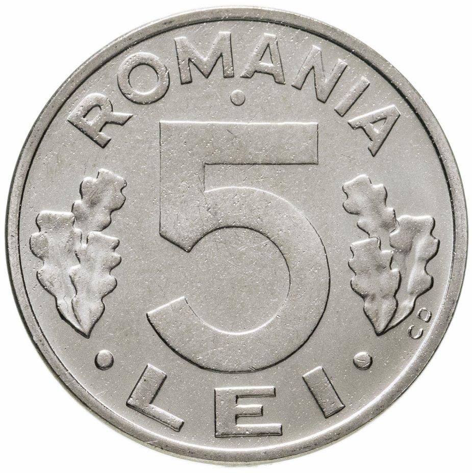 купить 5 леев (lei) 1993     Румыния