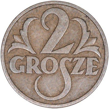 купить Польша 2 гроша 1937