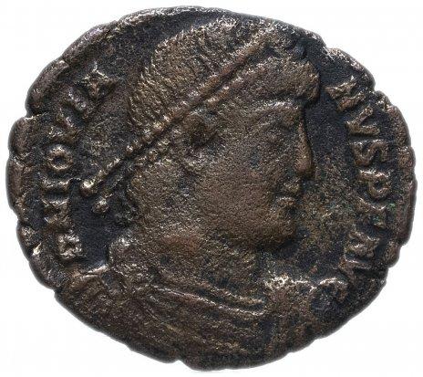 купить Римская Империя Иовиан 363–364 гг фоллис (реверс: легенда обрамлена венком)