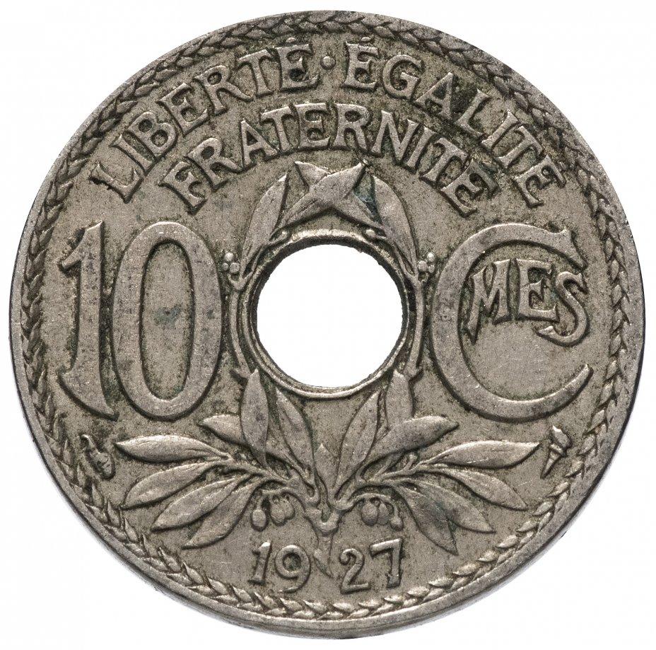 купить Франция 10 сантимов (centimes) 1917-1939, случайная дата