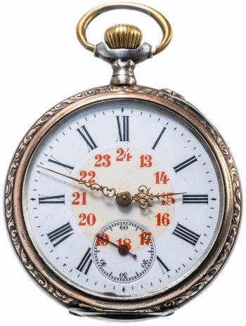 купить Часы карманные серебряные Galonne Швейцария 1963