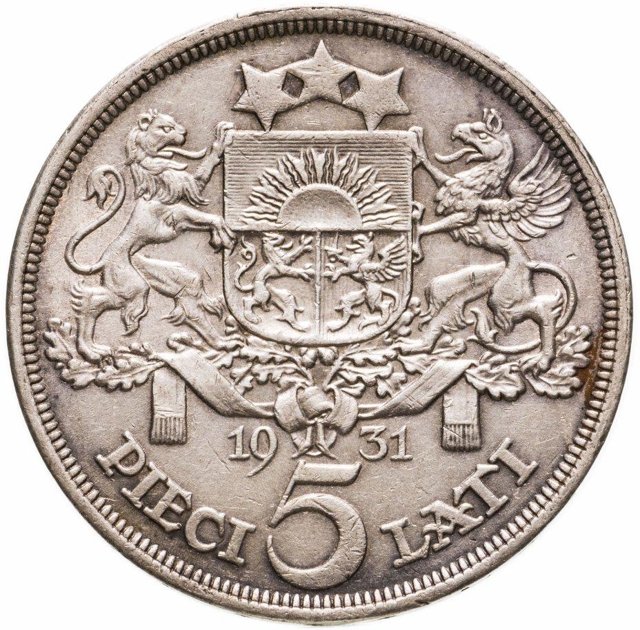 купить Латвия 5 латов (lati) 1931