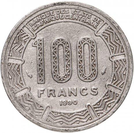 купить Центральноафриканская республика 100 франков (francs) 1990