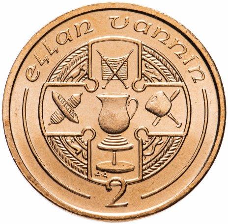 купить Остров Мэн 2 пенса (pence) 1995