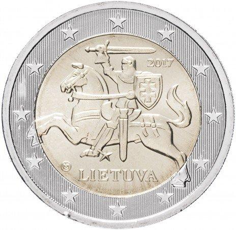 купить Литва 2 евро 2017