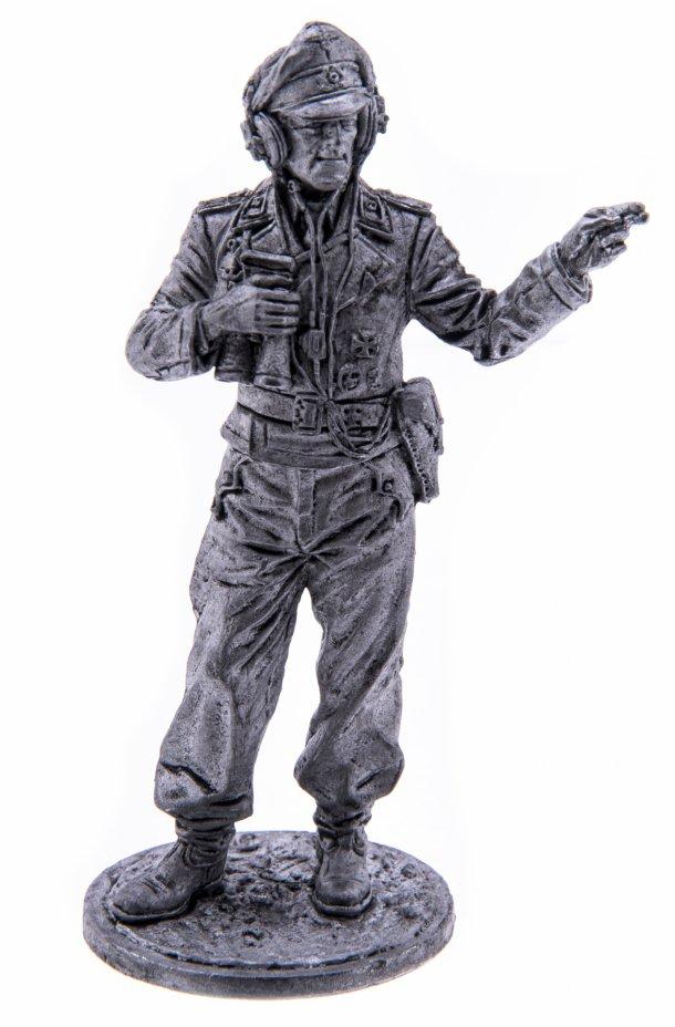 купить Оловянный солдатик, Офицер танковых частей Вермахта (Германия), Россия, 2021