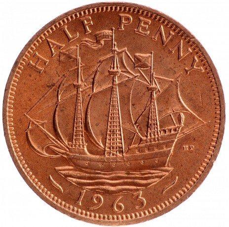 купить 1/2 пенни 1963 Великобритания