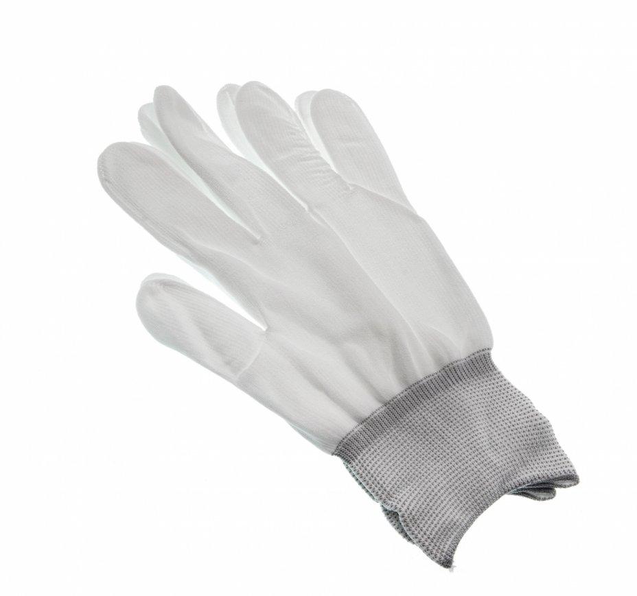 купить Перчатки нумизматические из полиэстера бесшовные (размер: L)