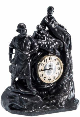 купить Часы настольные «Хозяйка Медной Горы», чугун, Каслинский чугунолитейный завод, СССР, 1980-2000 гг.