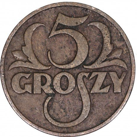 купить Польша 5 грош 1935