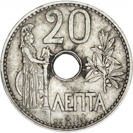 купить Греция 20 лепта 1912