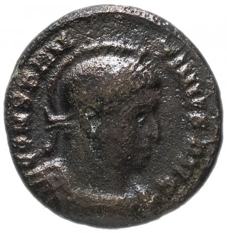 купить Римская Империя Константин I 306–337 гг фоллис (реверс: две Виктории лицом друг к другу держат щит)