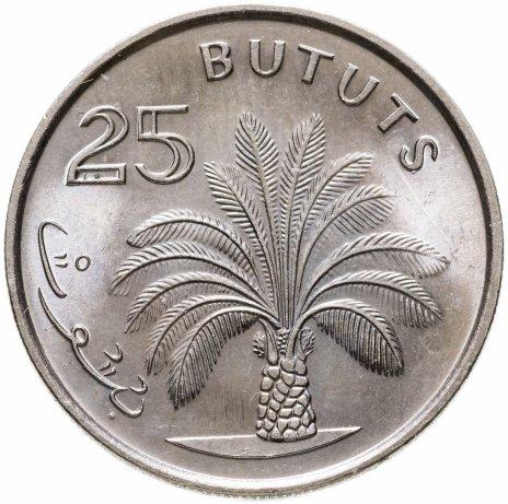 купить Гамбия 25 бутутов 1998 Масличная пальма