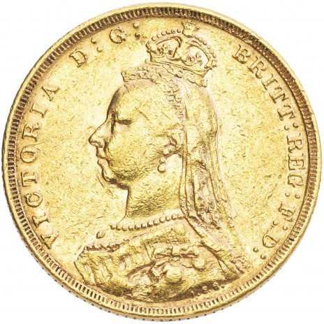 купить Великобритания 1 фунт (соверен) 1888