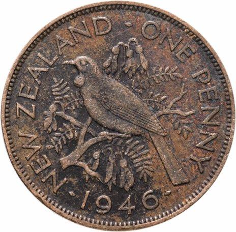купить Новая Зеландия 1 пенни (penny) 1946
