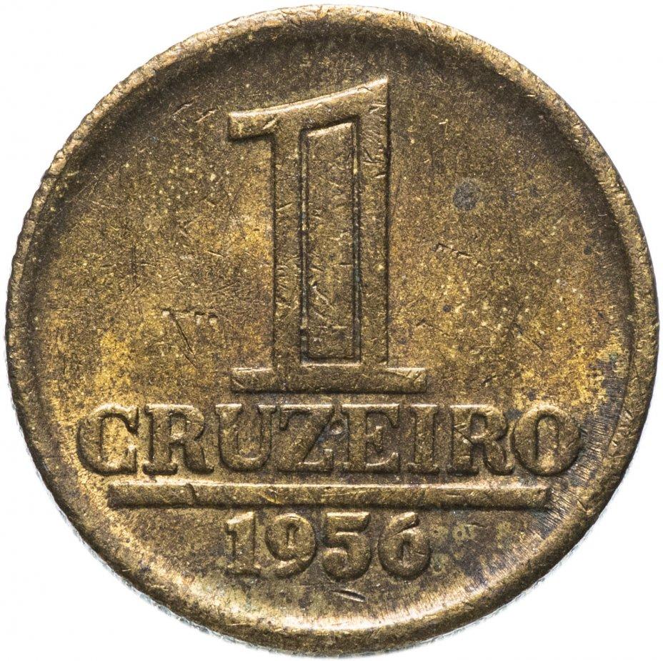 купить Бразилия 1 крузейро (cruzeiro) 1956
