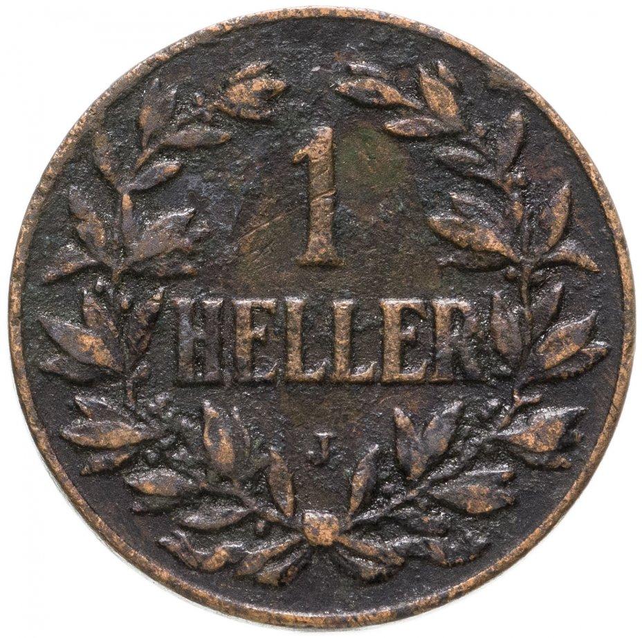 """купить Германская Восточная Африка 1 геллер 1904 """"J"""""""