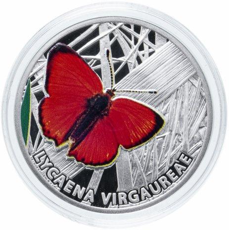 """купить Ниуэ 1 доллар 2010 """"Мир бабочек - Червонец огненный"""""""
