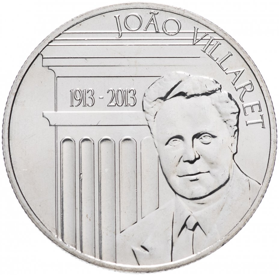 "купить Португалия 2,5 euro (евро) 2013 ""100 лет со дня рождения Жуана Вилларета"""