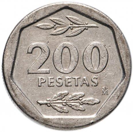 купить Испания 200 песет (pesetas) 1986-1988, случайная дата